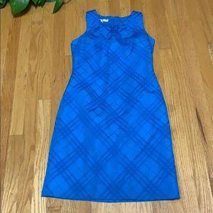 Evan picone royal blue dress